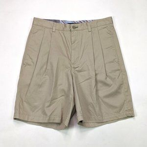 Tommy Hilfiger Classic Chino Size 33 Pleated Short